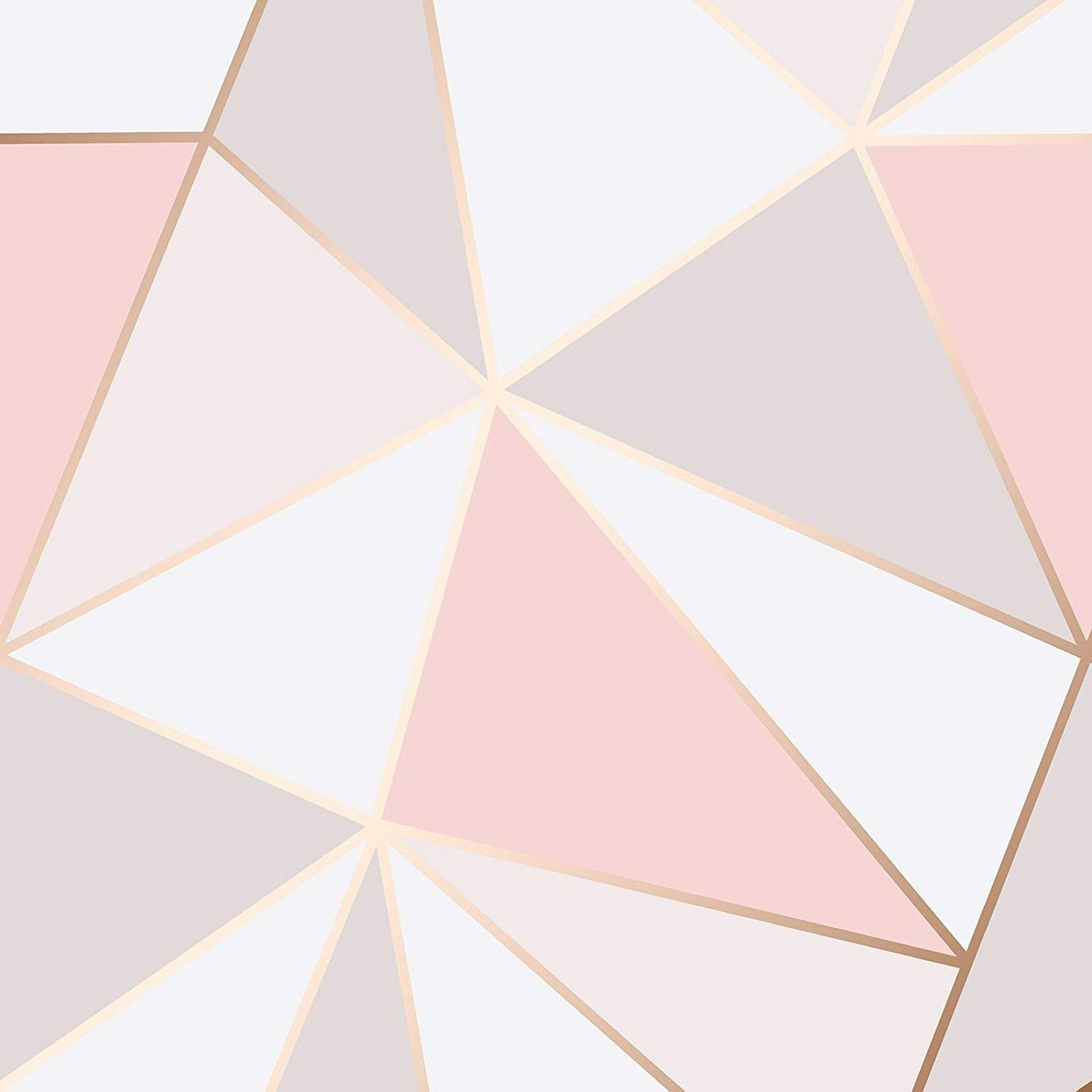 Puzzle Geometric Triangle Wallpaper
