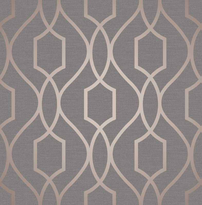 Platinum Metallic Mirror Texture Wallpaper