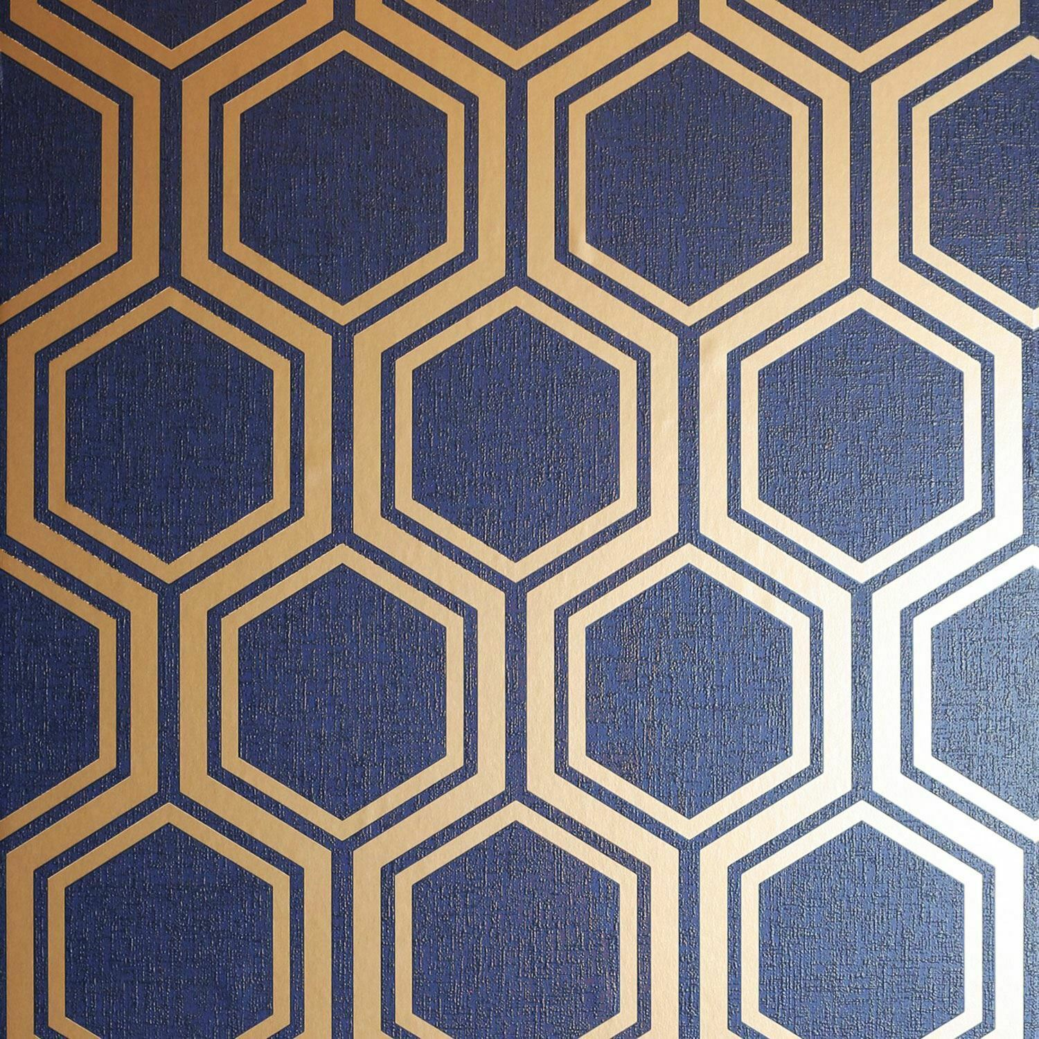 Astonia Geometric Stripe Wallpaper