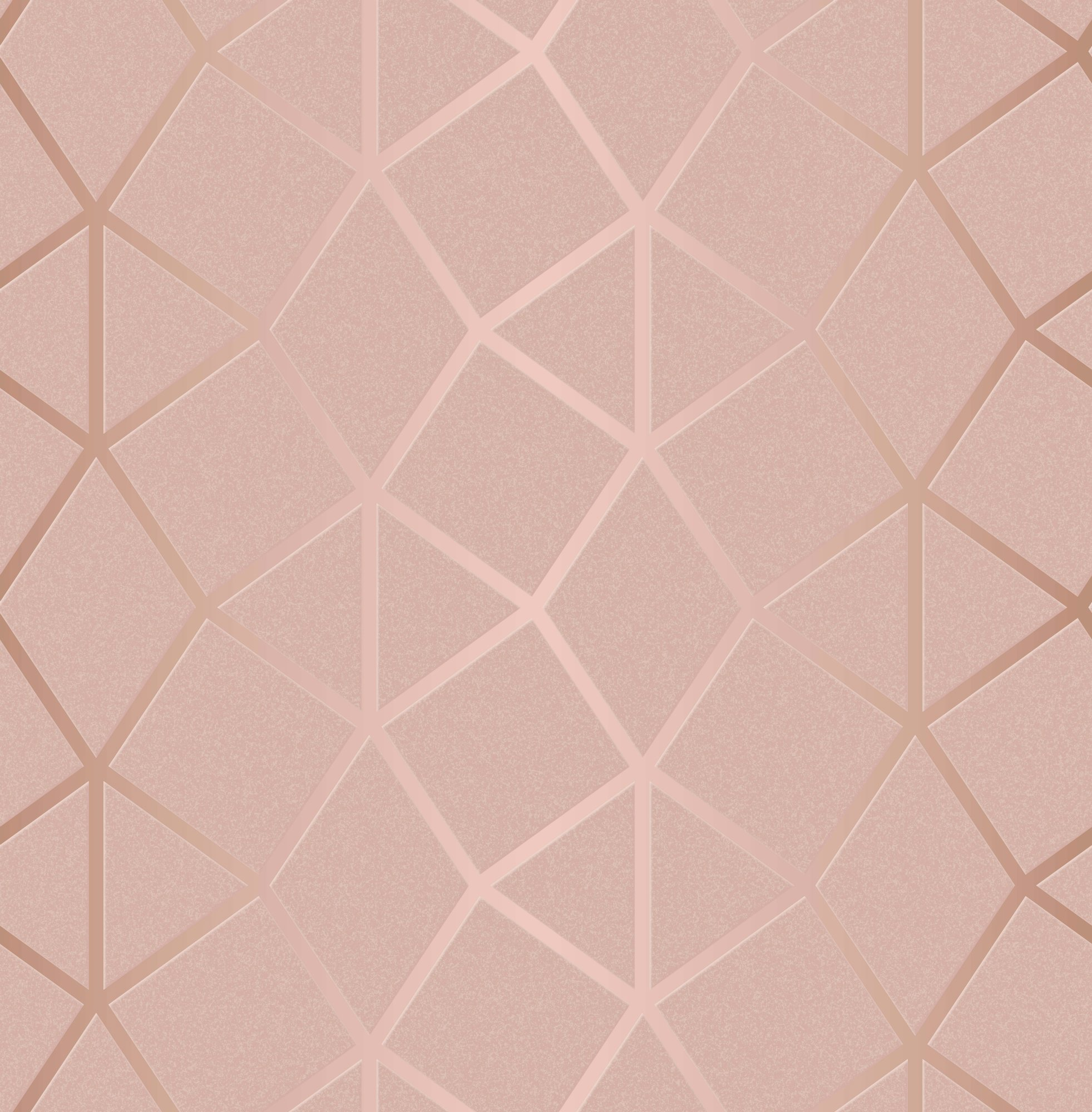 Luxe Hexagon Wallpaper