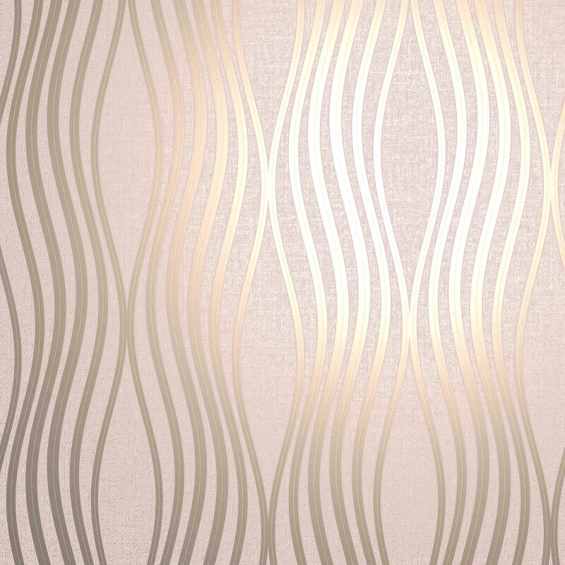 South Beach Exotic Palm Leaf Wallpaper
