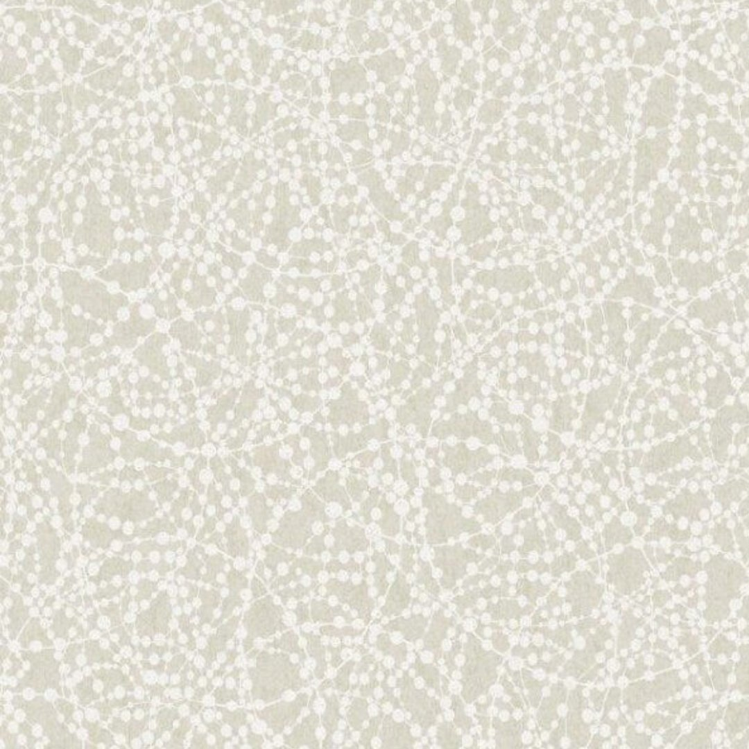 Linden Floral Sparkle Wallpaper