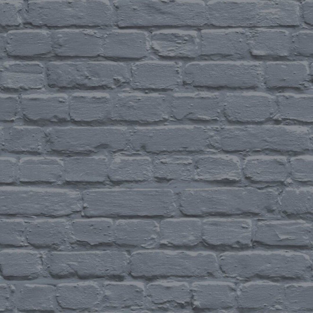 Herringbone Brick Effect Wallpaper
