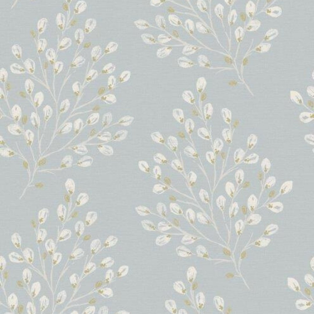 Starlight Metallic Polka Dot Wallpaper