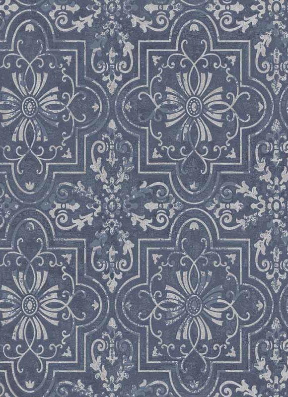 Collingwood Metallic Damask Wallpaper