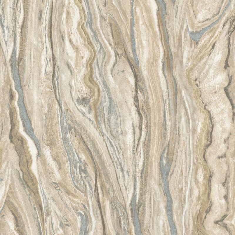 Elle Decoration Marble Effect Wallpaper