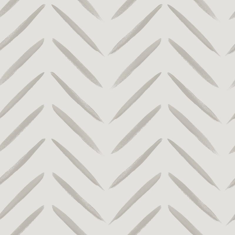 Chevron Brush Marks Wallpaper