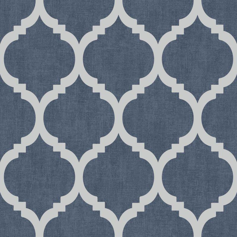 Zara Trellis Metallic Wallpaper