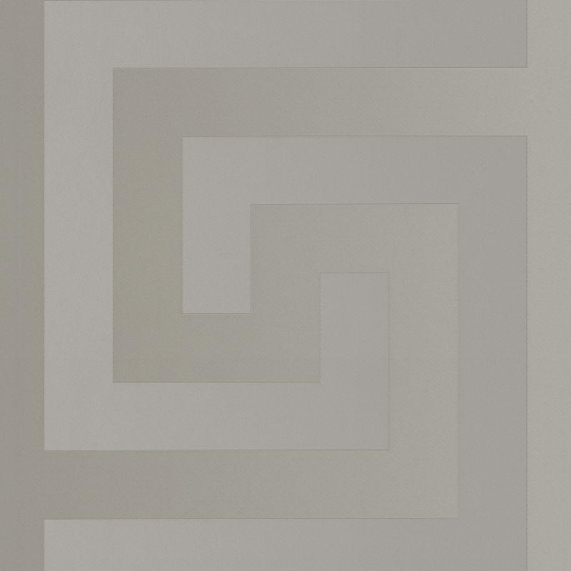Versace Geometric Greek Key Print Luxury Wallpaper