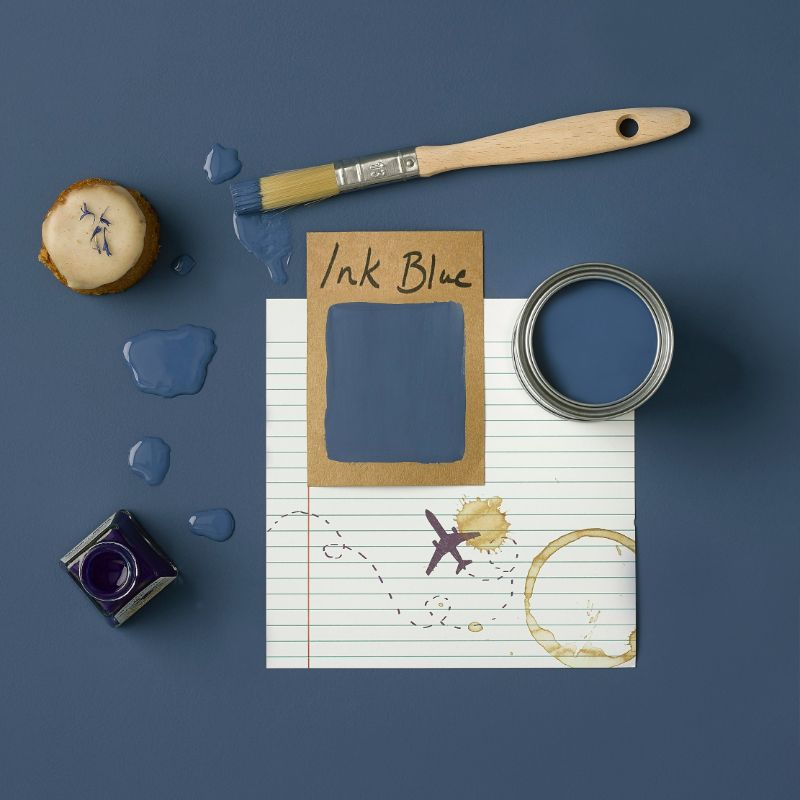 Rust-Oleum Kitchen Cupboard Paint - Ink Blue 750ml