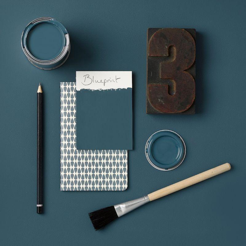 Rust-Oleum Kitchen Cupboard Paint - Blueprint 750ml