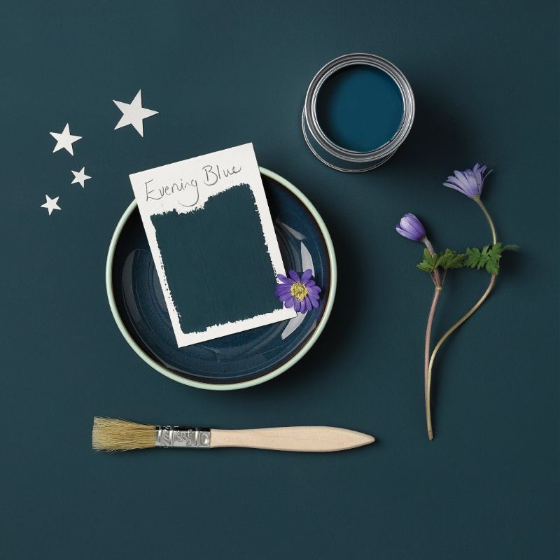 Rust-Oleum Kitchen Cupboard Paint - Evening Blue 750ml