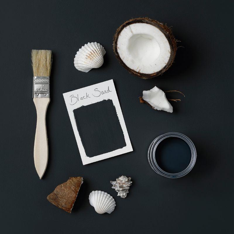 Rust-Oleum Kitchen Cupboard Paint - Black Sand 750ml