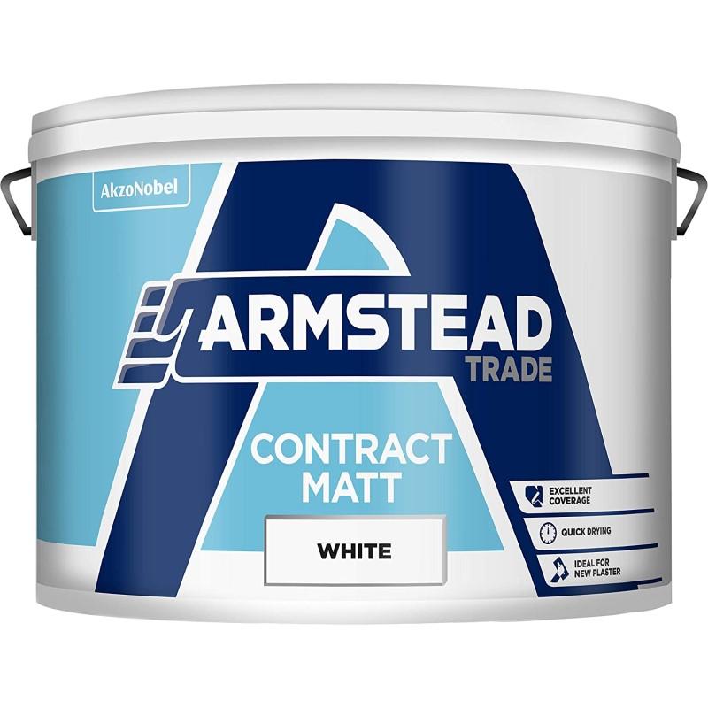 Armstead Trade Contract Matt - White 10L