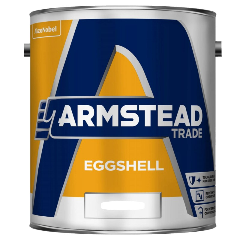 Armstead Trade Eggshell Solvent Based - Colour Match