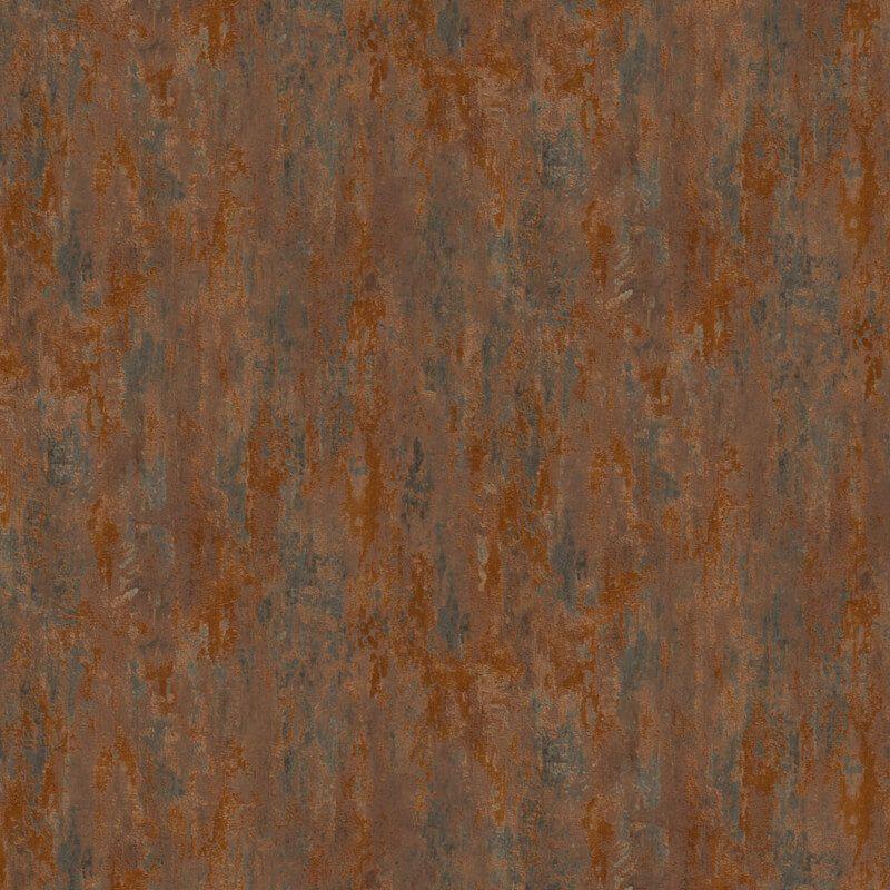 Havanna Industrial Texture Metallic Wallpaper Copper/Brown