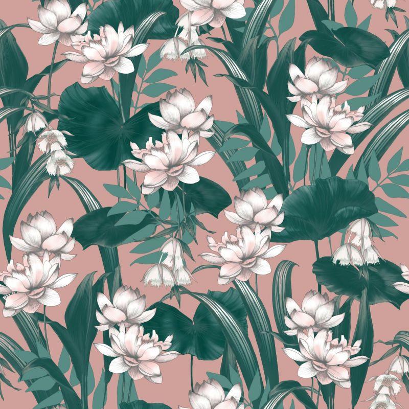 Accessorize Celeste Wallpaper Blush/Green