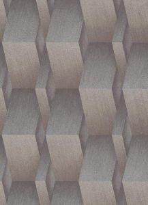 3D Effect Metallic Wallpaper Gold & Silver