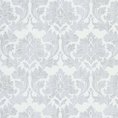 Erismann Timeless Damask Glitter Wallpaper White & Silver