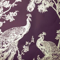Glistening Peacock Wallpaper Purple