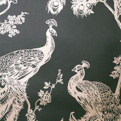 Glistening Peacock Wallpaper Green