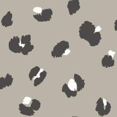 Large Leopard Spot Wallpaper Taupe