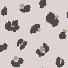 Large Leopard Spot Wallpaper Pink