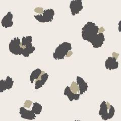 Large Leopard Spot Wallpaper Cream