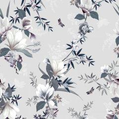Lipsy Lotus Floral Wallpaper - Grey