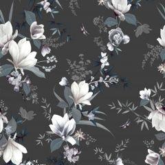 Lipsy Lotus Floral Wallpaper - Black