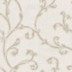 Perlina Tiffany Scroll Wallpaper Cream & Gold