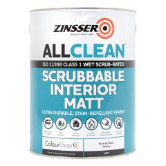 Zinsser AllClean Scrubbable and Fire Rated Interior Paint