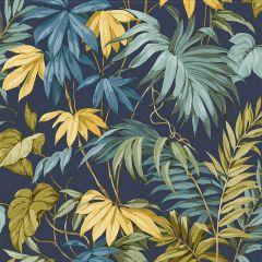 Liane Tropicale Wallpaper Navy