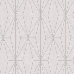 Aspen Geo Metallic Wallpaper Pink