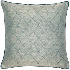 Malini Benzir Teal Cushion