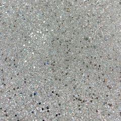 Celestia Oriah Glitter Iridescent Wallpaper White