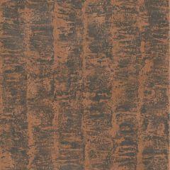Deluxe Metallic Structure Wallpaper Copper
