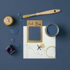 Rust-Oleum Matt Furniture Paint Ink Blue 750ml