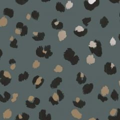 Mali Leopard DCO Exclusive Wallpaper Teal