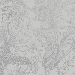Sumatran Wallpaper Grey/Silver