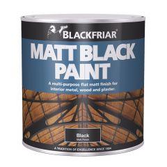 BlackFriar Metal & Wood Black Paint