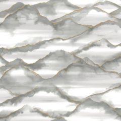 Elias Marble Wave Wallpaper Grey