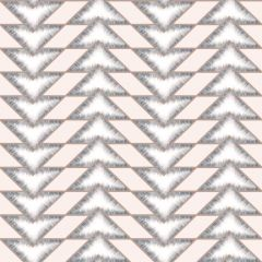 Teton Geometric Wallpaper Pink