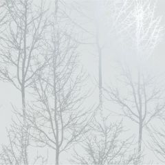 Rhea Trees Wallpaper Grey/Silver