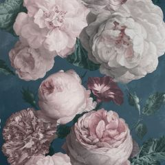 Highgrove Floral Wallpaper Teal