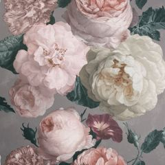 Highgrove Floral Wallpaper Warm Grey