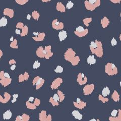 Amur Leopard Wallpaper Navy