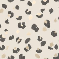 Amur Leopard Wallpaper Cream