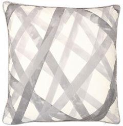 Malini Nastro Silver Cushion