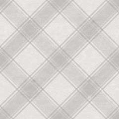 Ainsley Kaleidoscope Tartan Wallpaper Grey